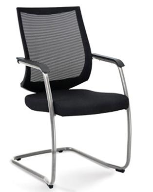 Cadeira para escritório fixa Aproximação 27006 SL ESTRUTURA CROMADA - Linha Air - Cavaletti -