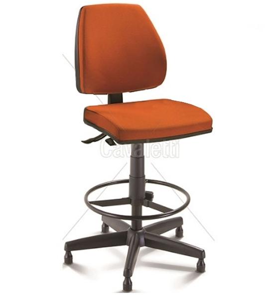 Cadeira giratória caixa 38022 BKG - SRE - Linha Pro - Cavaletti - Base Aço com Capa