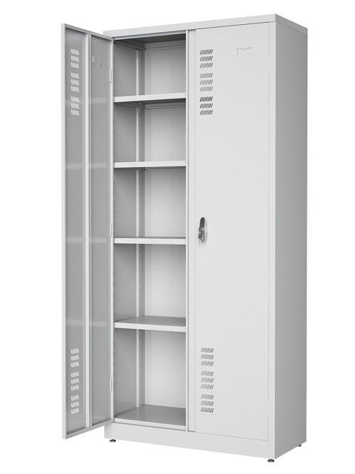 Armário 2 portas -  4 prateleiras reguláveis -  Com fechadura e maçaneta - 1980mm X 900mmX 400mm