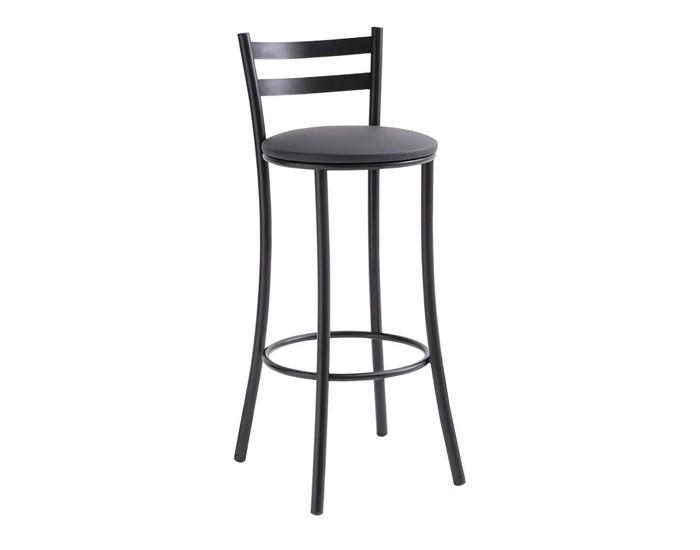 Banqueta Bar 030 - Com Encosto - 45cm - Assento Estofado