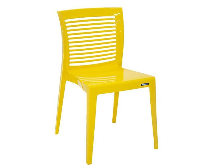 Cadeira Tramontina Victória sem Braços com Encosto Vazado Horizontal em Polipropileno