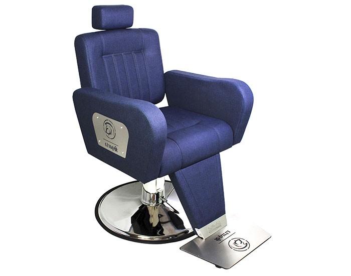 Cadeira Sparta - Encosto Reclinável - Com Cabeçote - Base HD Taça Cromada