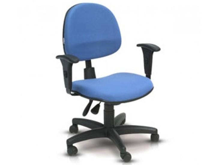Cadeira Secretária Executiva - Base Polaina - Back System - Com Braço