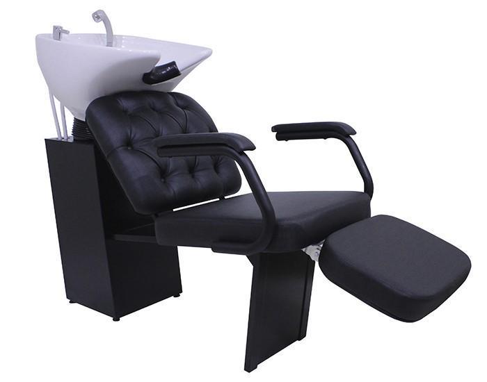 Lavatório Barber Boss - Com Descanso de Pernas - Kixiki Móveis