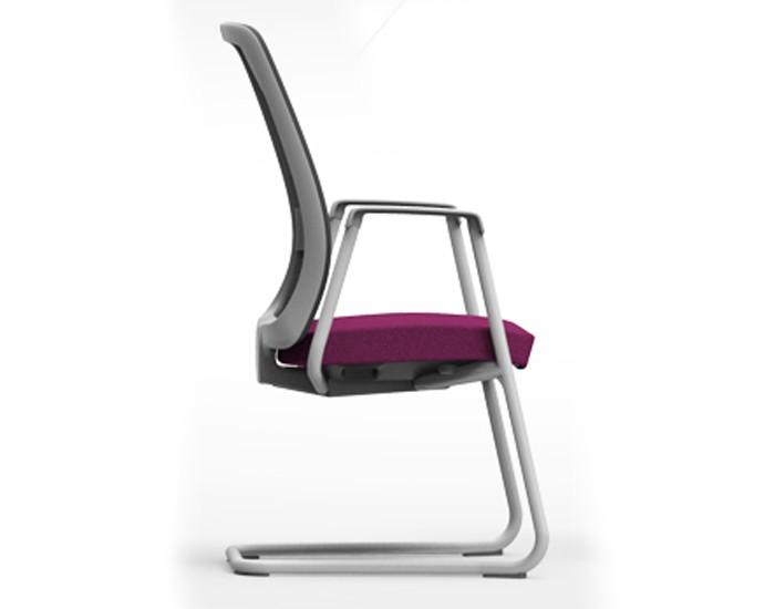 Cadeira para escritório Fixa Aproximação 42106 SI - Linha Vélo - Cavaletti -