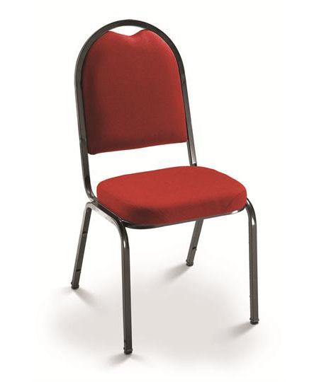 Cadeira para escritório fixa aproximação 1002 -  ESTRUTURA Preta - Linha Coletiva - Cavaletti