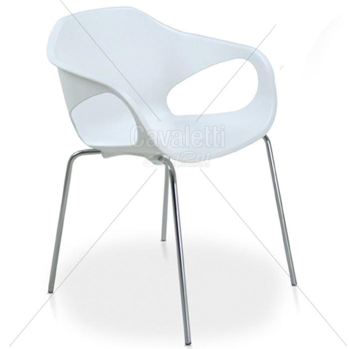 Cadeira para escritório fixa aproximação 33106 Palito - Linha Stay - Cavaletti