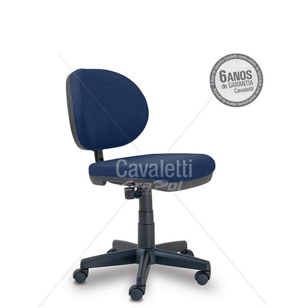 Cadeira para escritório Executiva Giratória 8203 - Linha Stilo - Cavaletti - Base Polaina