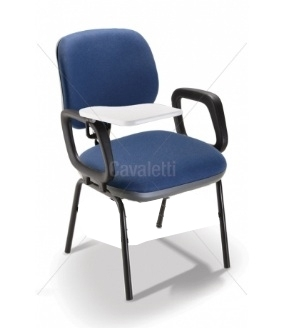 Cadeira Universitária 4107 PUE c/ Prancheta e SEM GRADIL - Linha Start - Cavaletti
