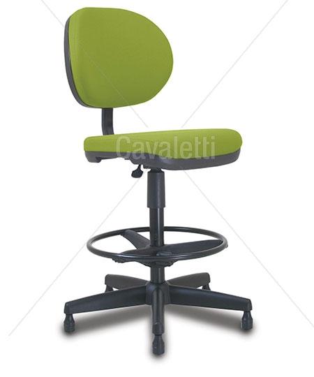 Cadeira giratória caixa 8223 BKG - SRE - Linha Stilo - Cavaletti