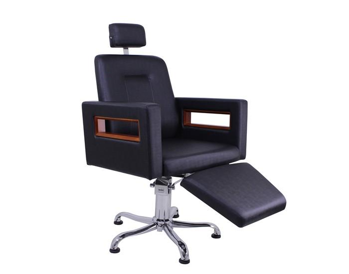 Cadeira Lisboa Encosto Reclinável com Cabeçote e Descanso de Pernas
