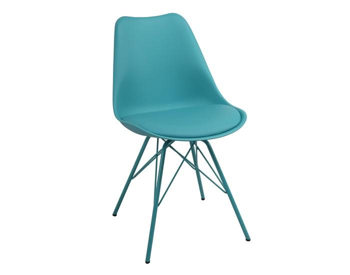 Cadeira ANM 6065 - Base em Aço - Assento Anatômico Estofado - Anima Home & Office