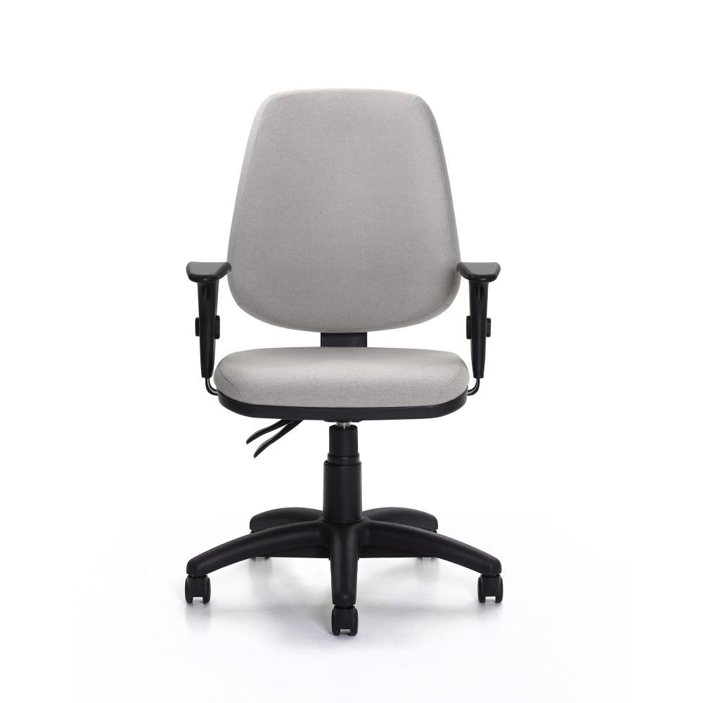 Cadeira Para Escritório Presidente Giratória JOB921 - Mecanismo Evolution - Base Nylon - Linha Job - Com Braço PP - Frisokar