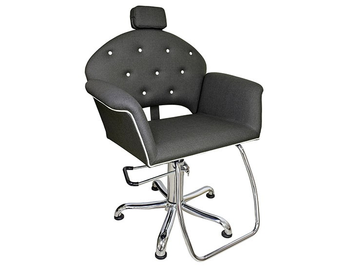 Cadeira Velvet - Reclinável - Com Cabeçote - Kixiki Móveis