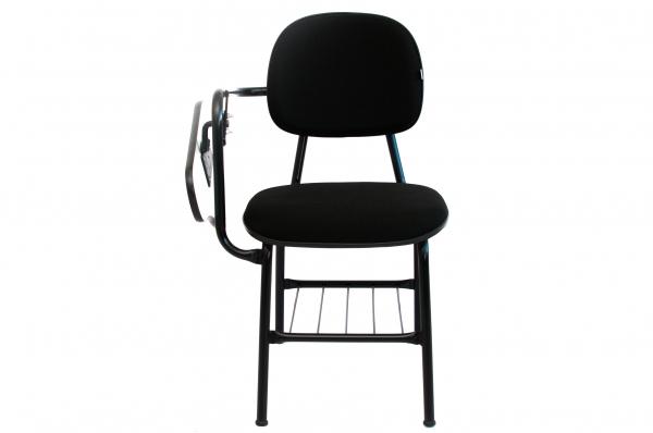 Cadeira Universitária - Prancheta Escamoteável - Com Gradil para Livros - Espuma Injetada - Dellus