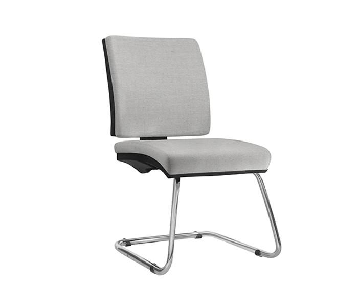Cadeira Fixa SIMFX074 - Base Diretor Cromada - Sem Braço - Linha Simple - Frisokar