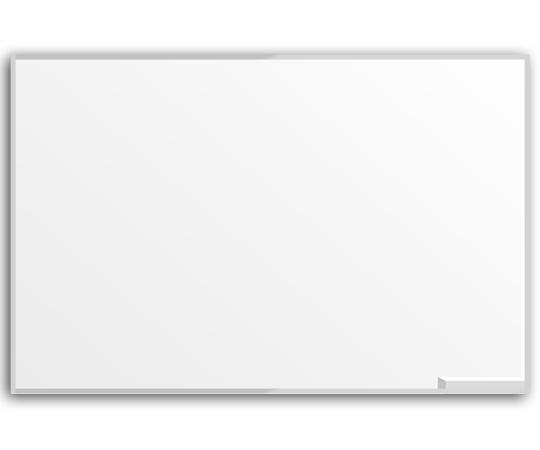 Quadro branco c/ borda em alumínio 1,50x1,00x15 - Dellus