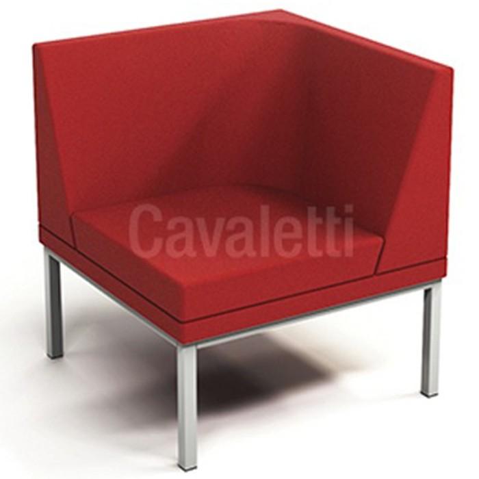 Sofá Espera 36505 Modular Canto - Linha Talk - Cavaletti