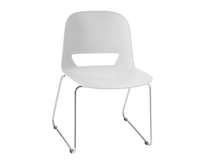 Cadeira Fixa KIN002 - Base Fixa Cromada - Linha Kind - Sem Braço - Frisokar