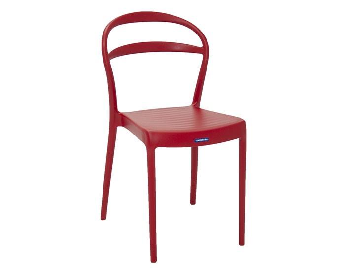 Cadeira Tramontina Sissi sem Braços com Encosto Vazado em Polipropileno e Fibra de Vidro