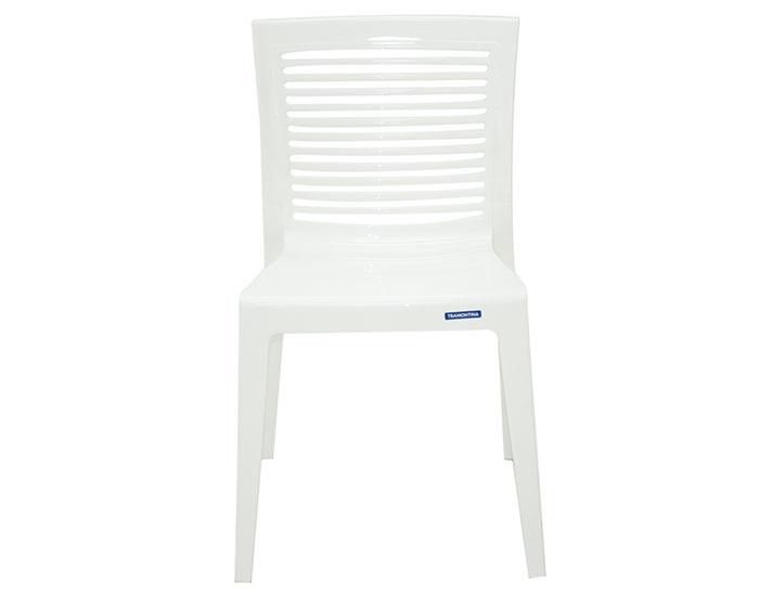 Cadeira Tramontina Victória sem Braços com Encosto Vazado Horizontal em Polipropileno -