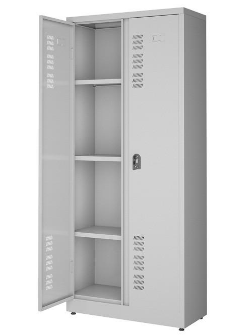 Armário 2 portas -  3 prateleiras Fixas -  Com fechadura - 1740mm X 760mm X 330mm