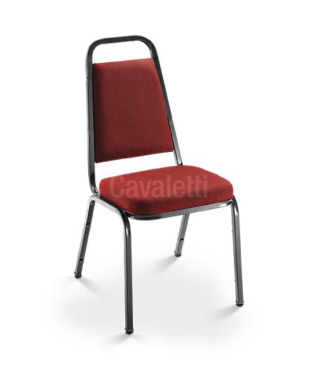 Cadeira Aproximação Empilhável 1001 - Espuma EXPANDIDA - Linha Coletiva - Cavaletti
