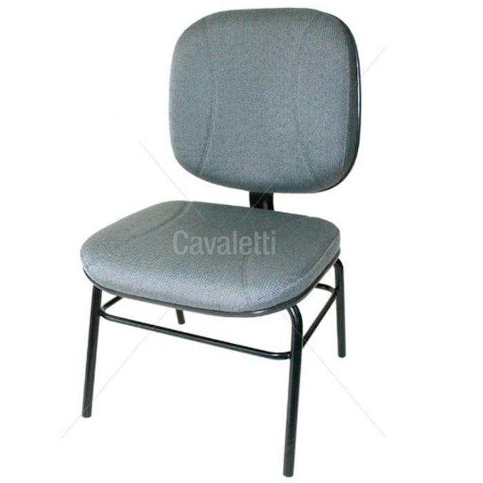 Cadeira para escritório fixa aproximação 4007 P Extra - Linha Start - Capacidade 140kg - Cavaletti