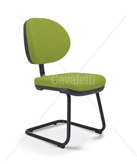 Cadeira para escritório fixa aproximação  8207 S - Linha Stilo - Cavaletti