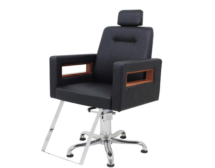 Cadeira Lisboa -  Encosto Fixo - Com Cabeçote - Sem Descanso de Pernas - Kixiki Móveis