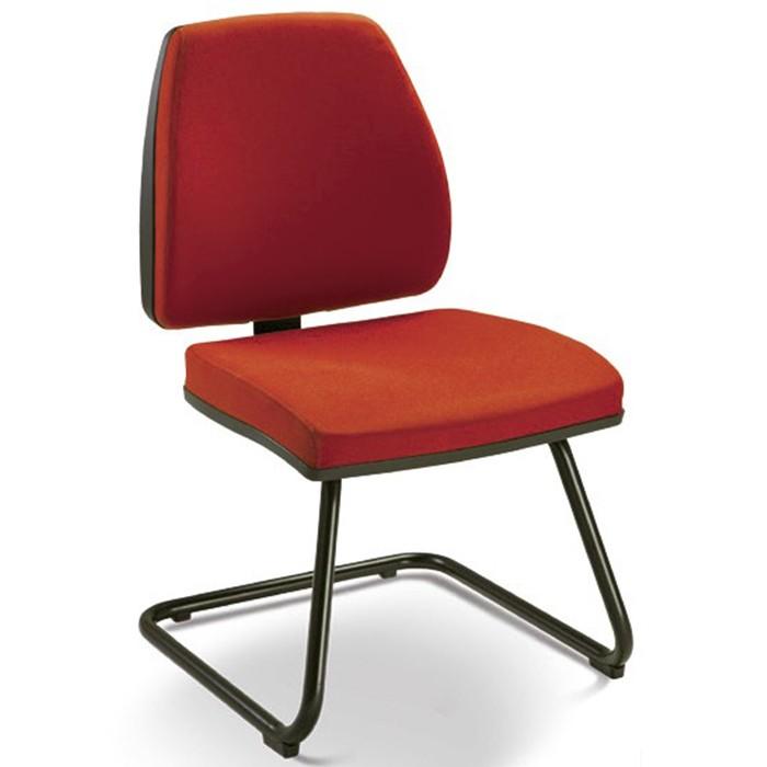 Cadeira para escritório fixa aproximação 38007 - Sem Braço -  ESTRUTURA PRETA - Linha Pro - Cavaletti