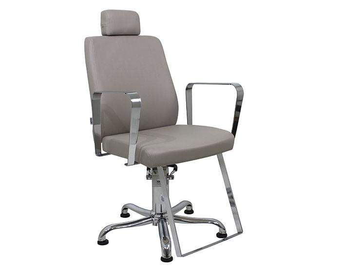 Cadeira Croma - Encosto Reclinável - Com Cabeçote - Kixiki Móveis