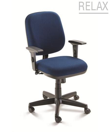 Cadeira para escritório giratória diretor 4002 RELAX - Linha Start - Braço SL - Cavaletti - Base Polaina
