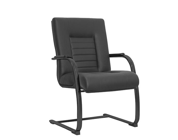 Cadeira Fixa ONIFX014- Base SKL Preta - Linha New Onix - Com Braço - Frisokar