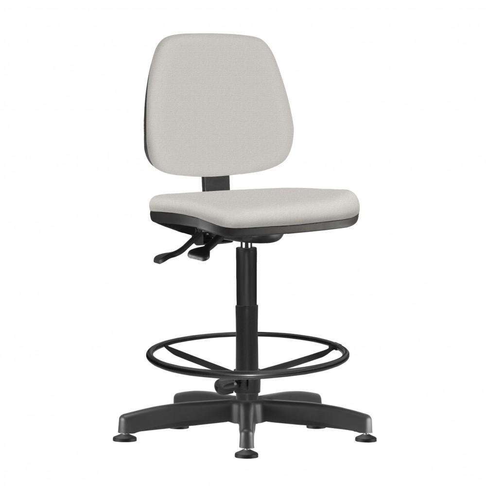 Cadeira Caixa Giratória kJOB0914 - Mecanismo Evolution - Base Caixa com Aro - Linha Job - Sem Braço  - Frisokar
