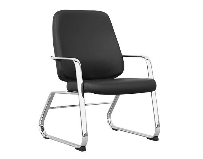 Cadeira Fixa MAXFX010 Extra - Base Fixa Cromado - Com Braço - Linha Maxxer - Capacidade 150kg - Frisokar