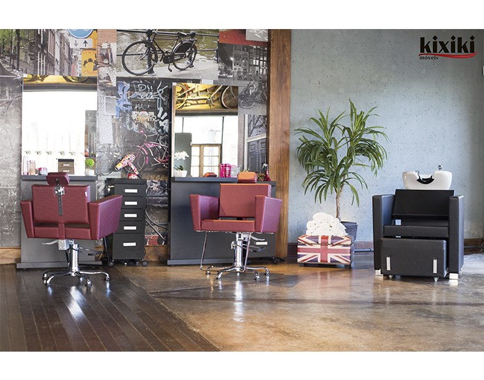 Cadeira Niágara - Encosto Reclinável - Com Cabeçote - Sem Descanso de Pernas - Kixiki Móveis -