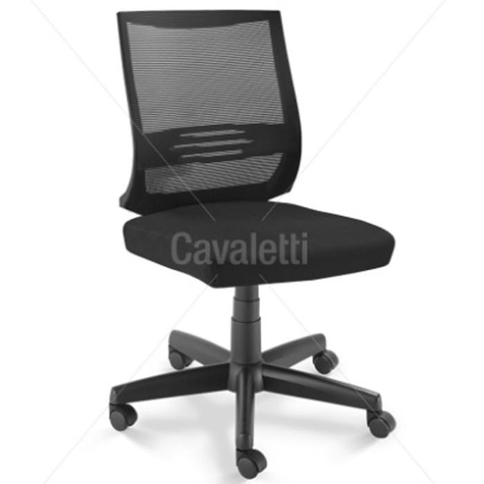 Cadeira para escritório giratória 27001 - BG - Linha Air - Cavaletti - Base Polaina