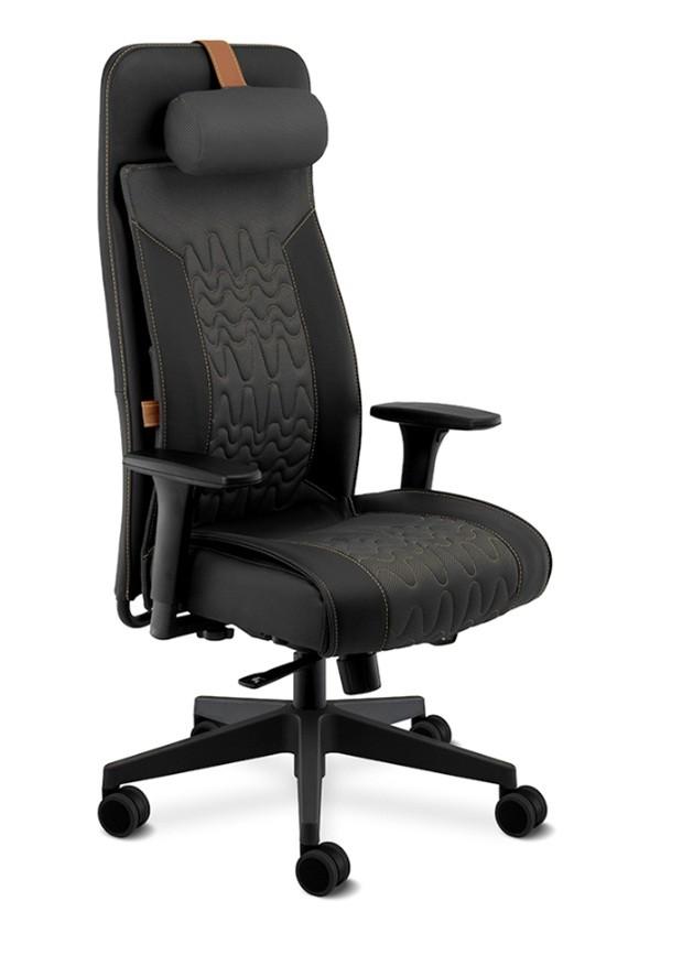 Cadeira Gamer Way - Presidente 19900 AC - Syncron -Apoio de Lombar - Regulagem Profundidade do Assento  - BRAÇO 4D - Cavaletti - Base Nylon