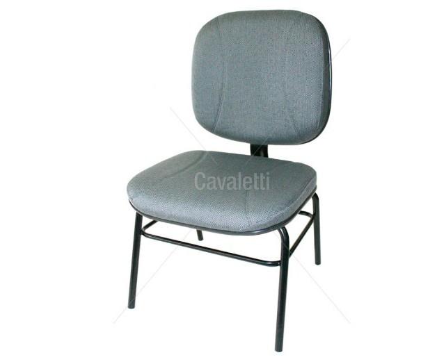 Cadeira para escritório fixa aproximação 4007 P Extra - Linha Start - Cavaletti