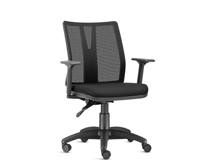 Cadeira Para Escritório Diretor Giratória KADD51 - Mecanismo Evolution - Base Nylon - Linha Addit - Com Braço - Frisokar