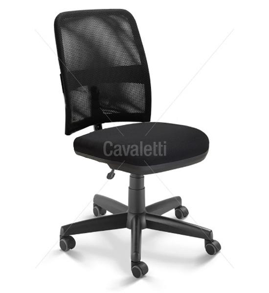 Cadeira para escritório executiva giratória 16003 SRE - Linha NewNet - Cavaletti - Base Polaina