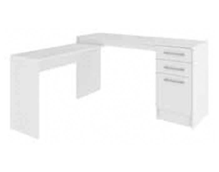 Mesa para Trabalho em L - Com 03 Gavetas - MDP - 1360x1360