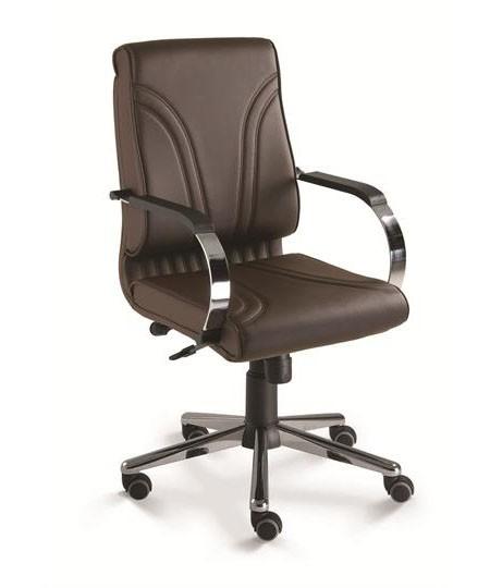 Cadeira para escritório giratória diretor 20002 RELAX  - Linha Master - Cavaletti - Base Estampada Cromada
