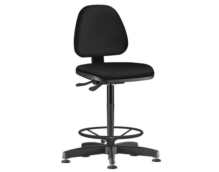 Cadeira Caixa Giratória SKYCX304 - Mecanismo Evolution - Base Caixa com Aro - Linha Job - Sem Braço  - Frisokar