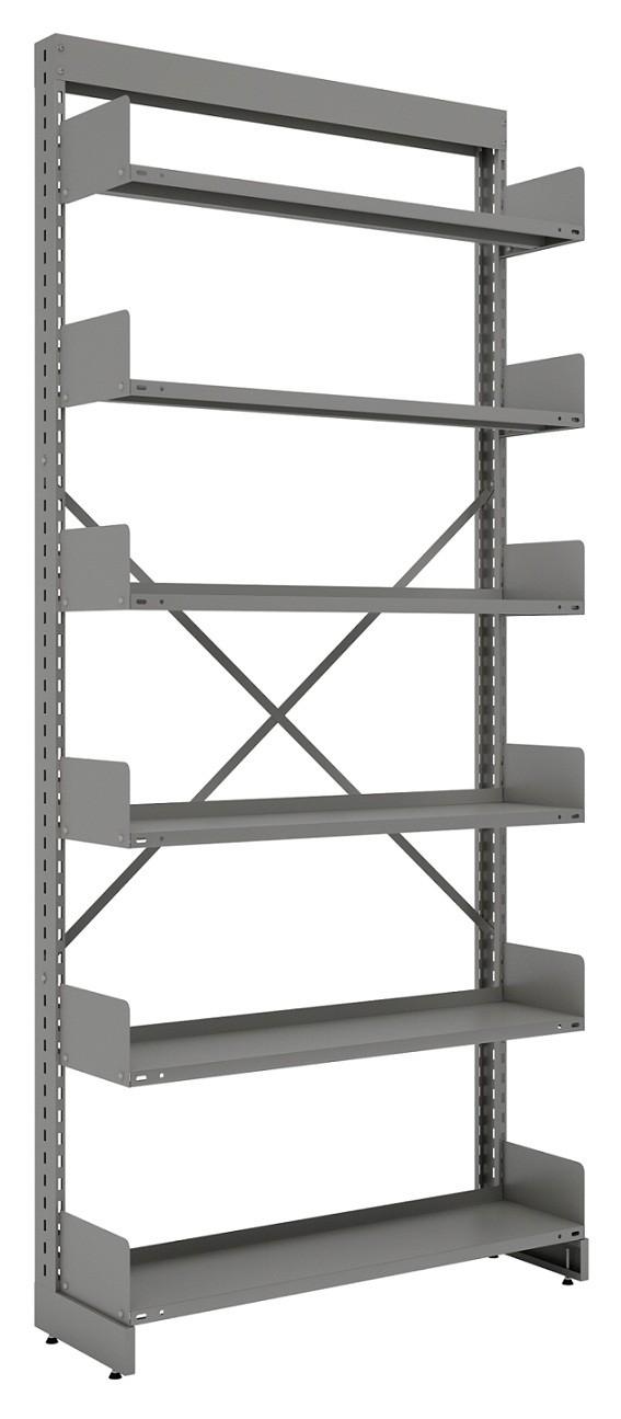 Estante simples para biblioteca  c/ 6 Prateleira 2300X965X330mm