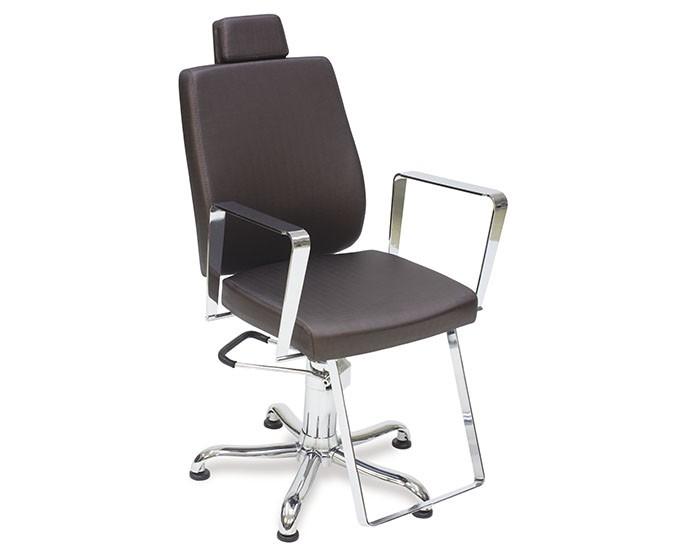 Cadeira Croma - Encosto Fixo - Com Cabeçote - Kixiki Móveis
