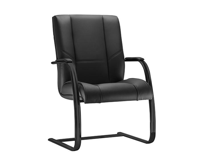 Cadeira Fixa KONIFX08- Base SKL Preta - Linha New Onix - Com Braço - Frisokar