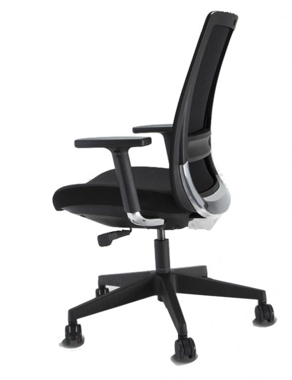 Cadeira para escritótio giratória presidente 29001 - Linha C4 - BRAÇO 3D - Cavaletti - Base Nylon