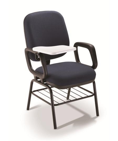 Cadeira Universitária 4006 PUE c/ Gradil e Prancheta - Linha Start - Cavaletti